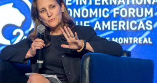 Freeland says Canada 'closely following' reports of attacks on Russian journalists – Global News