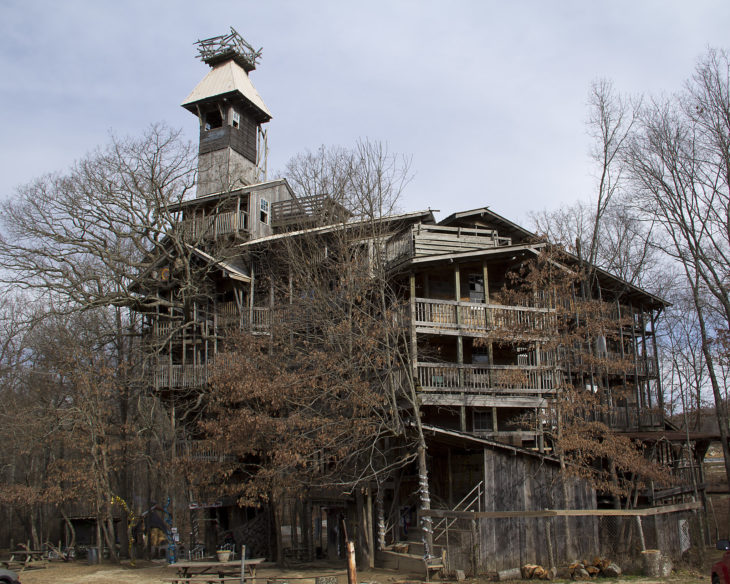 RIP, World's Largest Treehouse: 97-Foot Wonder Burns Down