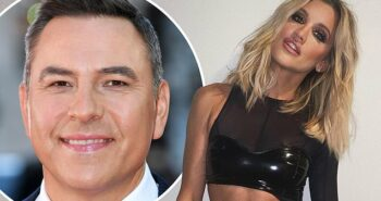 David Walliams, 48, 'sets his sights on a romance with Ashley Roberts, 38'