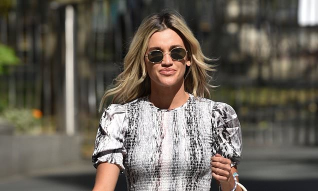 Ashley Roberts steps out following claims David Walliams has 'set his sights on romancing her'