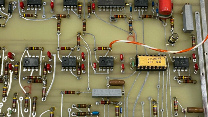 How CERN Made High Quality Electronics In The 1970s