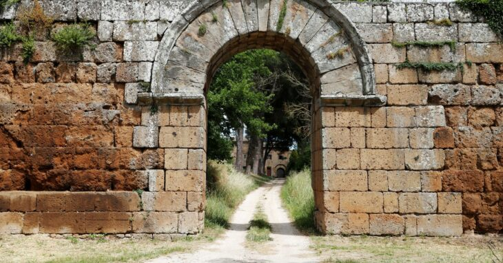 Ground-Penetrating Radar Mapped a Buried Ancient Roman City