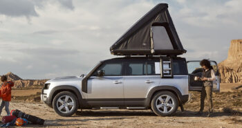 Autohome x Land Rover Defender Roof Tent