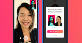 Tinder adds photo verification so you know you're swiping a real person