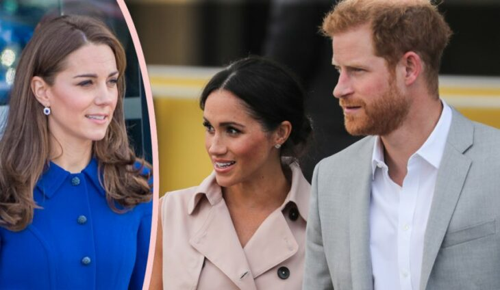 Bombshell Book Claim: Kate Middleton Warned Prince Harry Not To Marry Meghan Markle!