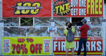 : More of us are launching our own fireworks this year, raising warnings of injuries and wildfires