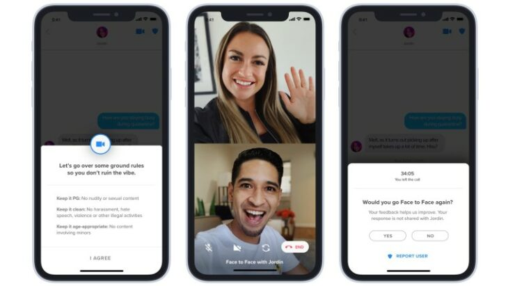 Tinder begins testing video calls in some countries