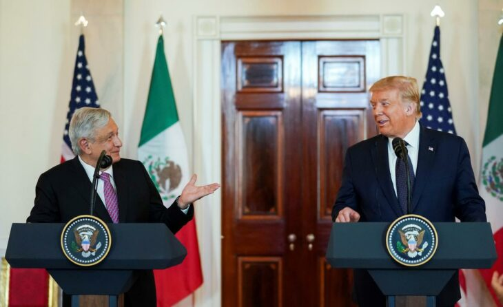 Mexican president thanks Trump for not mentioning border wall at summit – Reuters UK