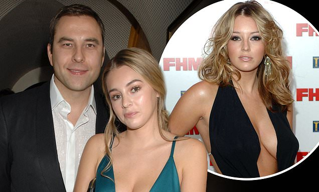 David Walliams, 48, 'moved former Page 3 girl Keeley Hazell, 33, into his house'