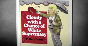 Billy Eichner Presents Mary Trump's Line of Children's Books on 'Kimmel,' Including 'Cloudy With a Chance of White Supremacy' (Video)