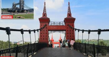 Welcome to the 'Tower Bridge of China': City tries to clone London's landmark for tourists