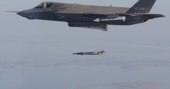 VIDEO: Watch an F-35 Go Into 'Beast Mode' And Smash 5 Targets