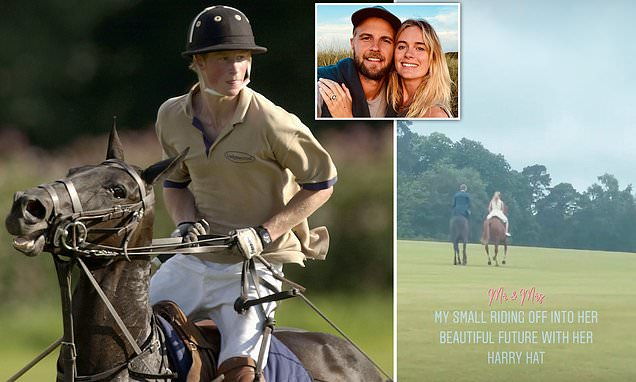 Prince Harry's exCressida Bonas wed at exclusive Cowdray Park where Duke often played polo