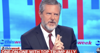 Jerry Falwell Jr. to reporter: 'Trust me, you do not want to mess with me, OK?'