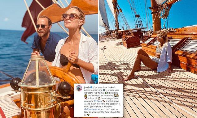 James Middleton reveals he and fiancee Alizee Thevenet postponed their wedding TWICE this summer