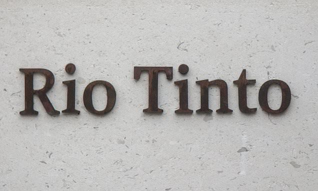ALEX BRUMMER: Row explodes at miner Rio Tinto
