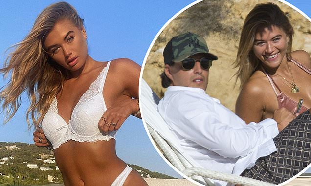 Love Island star Arabella Chi's new beau 'was arrested for stealing Rolex'
