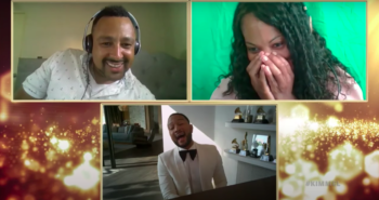 John Legend crashed strangers' video call dates to sing about twerking