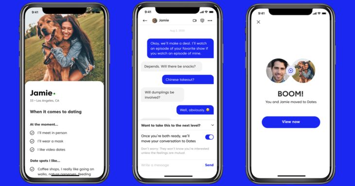 Match launches Dates, a feature to help navigate dating during the pandemic
