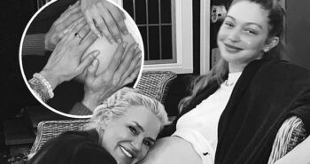 Gigi Hadid's mother Yolanda says they are 'waiting patiently' for her baby's arrival